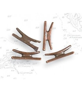 Accessoires de modélisme navale: taquet métal 13 mm