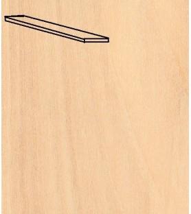 Paquete Chapa forro TILO 0,6x5x1000 mm (25 u)