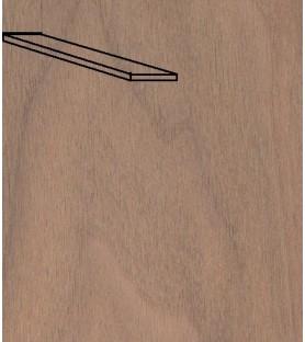 Paquete Chapa forro NOGAL 0,6x5x1000 mm (25 u)
