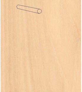 BIRCH BAR BOX diam. 12x914 mm (10 u)