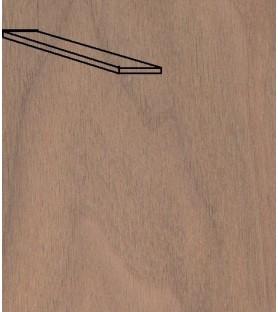 Plancha de nogal de  8 x 70 mm