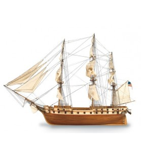 Maqueta de barco en madera: US CONSTELLATION