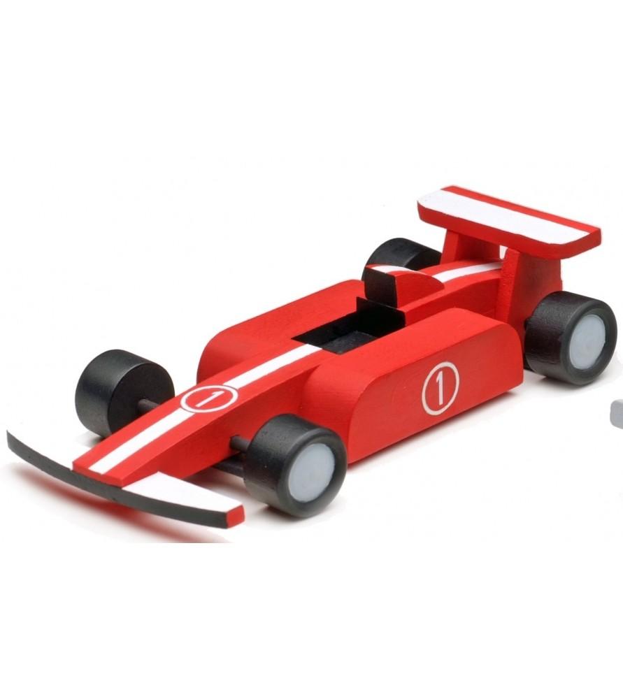 MI PRIMER KIT EN MADERA: FORMULA RACER