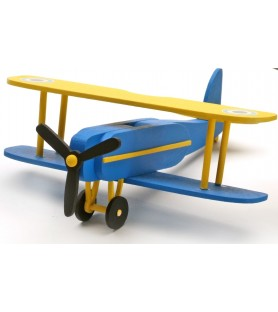 MY FIRST WOODEN KIT: BIPLANE