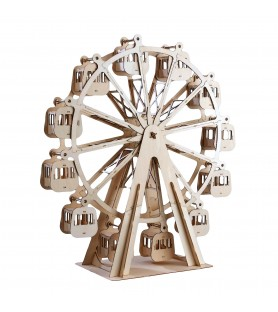 Vintage Wooden Model: Big Wheel