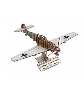 Maqueta de Avión en Madera: Messerschmitt BF 109 1/48
