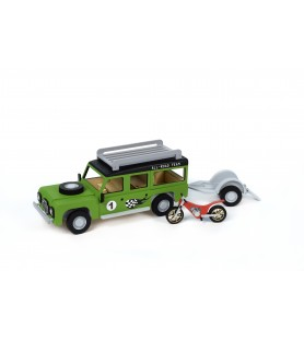 JUNIOR COLLECTION: ALL ROAD + TRAILER + BIKE