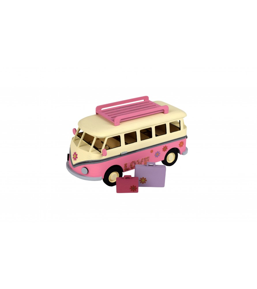 8 Year Old Construction Toys : Wooden model holiday s van construction toys for year