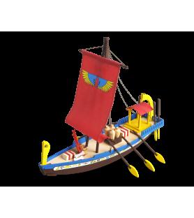 Maqueta en Madera para Niños: Barco Egipcio de Cleopatra