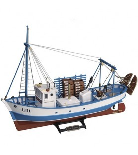 Wooden Model Ship Kit: New Mare Nostrum 1/35