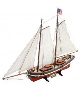 Wooden Model Ship Kit: New Swift 1/50