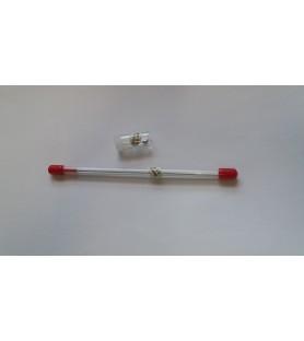 Nozzle + needle 0,80 mm diameter