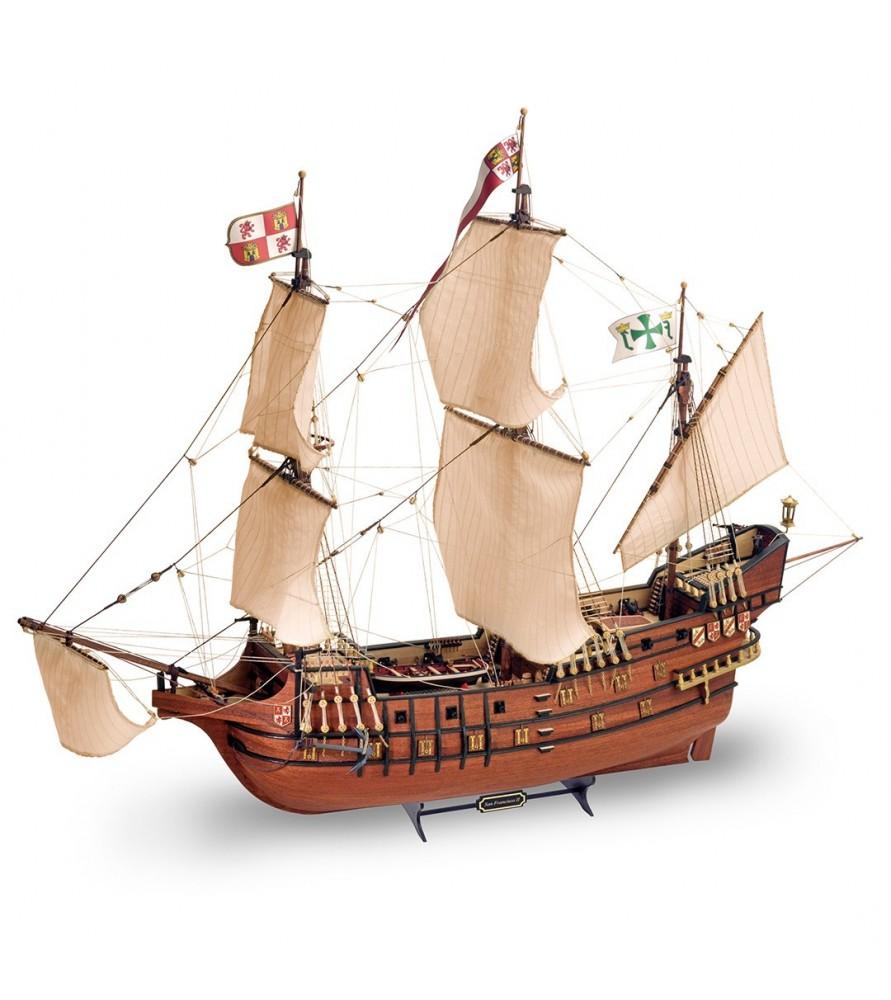 Maqueta de barco en madera: San Francisco II NEW