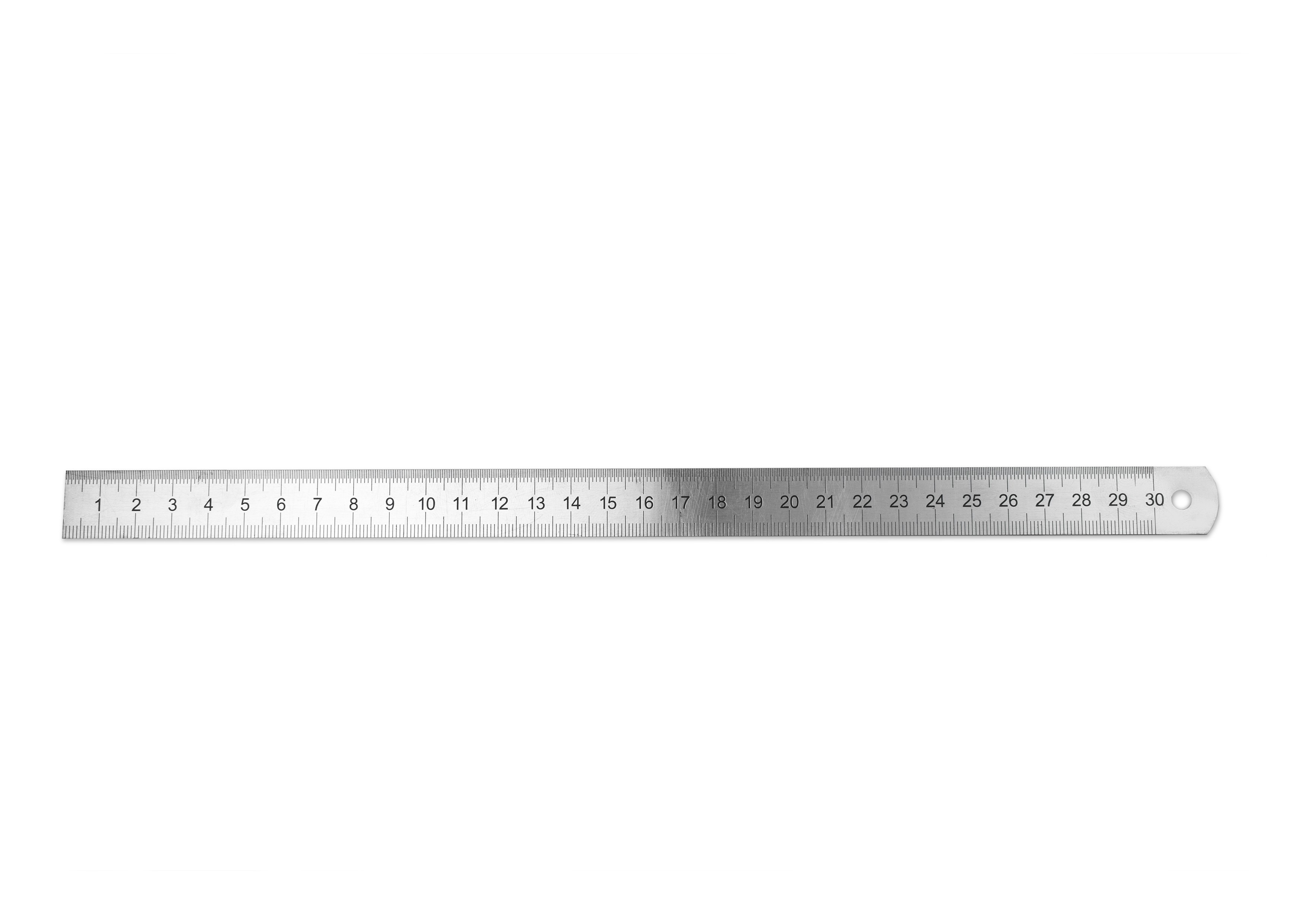 STAINLESS STEEL RULER 300 X 19 1 Mm