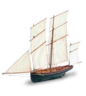 Wooden Model Ship Kit: La Cancalaise 1/50