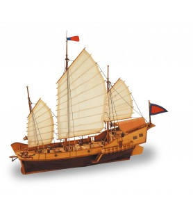 Wooden Model Ship Kit: Red Dragon 1/60