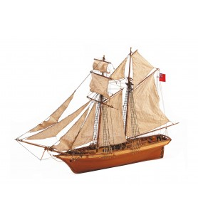 Wooden Model Ship Kit: Scottish Maid 1/50