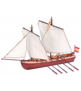 Wooden Model Ship Kit: Santisima Trinidad Boat 1/50