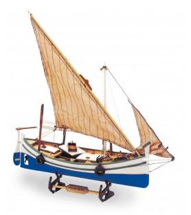 Maqueta de Barco en Madera: Llaüt Palma Nova 1/25