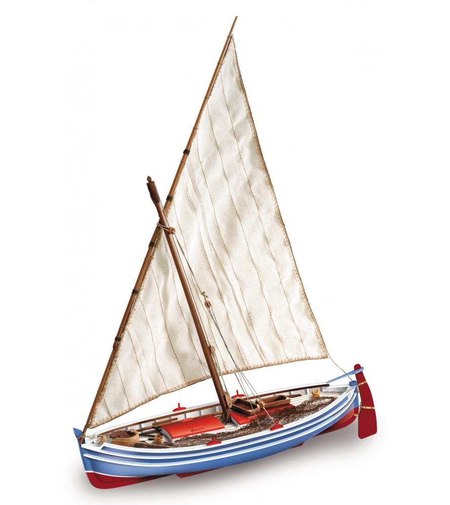 Maqueta de Barco en Madera: Cadaqués 1/20