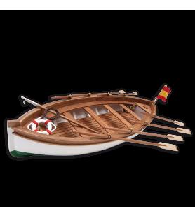 Maqueta de Barco en Madera: Bote Salvavidas Juan Sesbastián Elcano 1/35