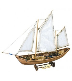 Wooden Model Ship Kit: French Doris Saint Malo
