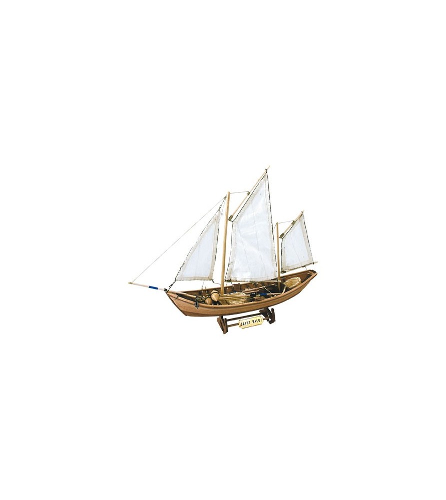 Wooden Model Ship Kit: French Doris Saint Malo 1/20