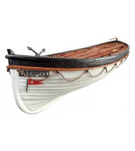Wooden Model Boat Kit: Titanic's Lifeboat 1/35