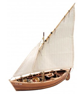 Wooden model ship kit: La Provençale