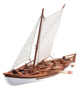Wooden Model Ship Kit: New England's Whaleboat Providence 1/25