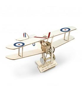 Maquette Avion de Chasse en Bois: Sopwith Camel 1/32