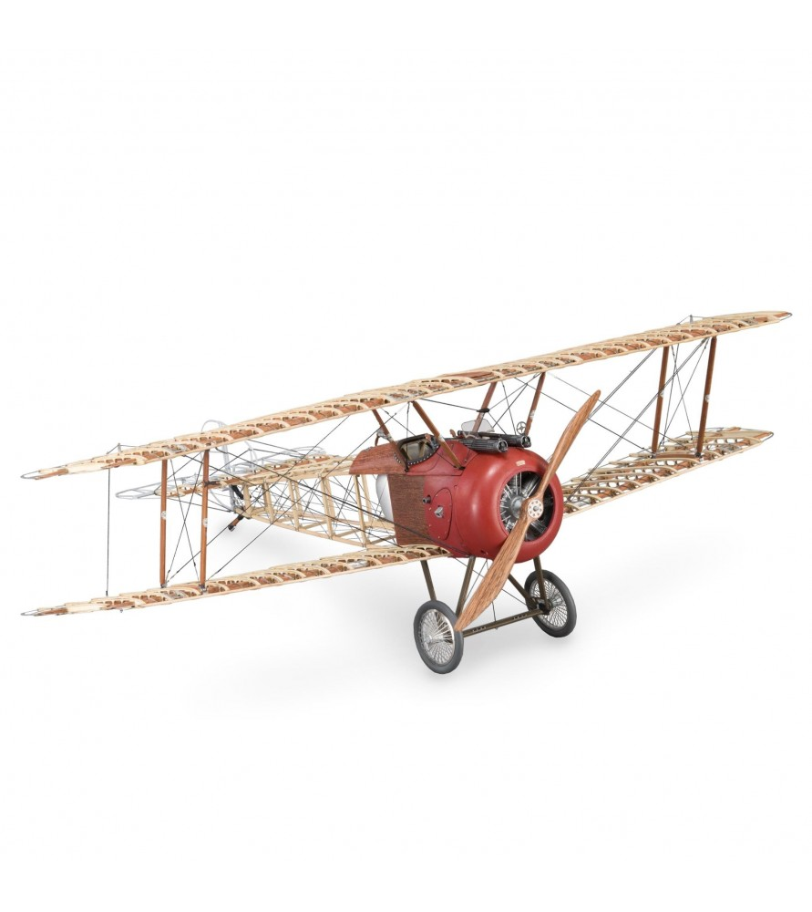 Wooden and Metal Model: Sopwith Camel Airplane 1/16