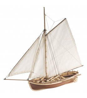 Wooden Model Ship Kit: HMS Bounty Jolly Boat