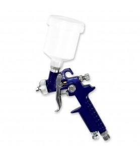 Mini pistola de aerografía azul
