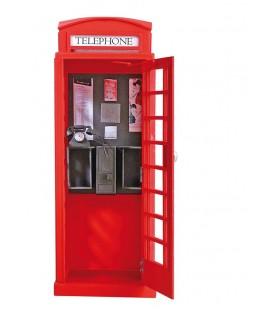 Maqueta en Madera: Cabina de Teléfono Londinense 1/10