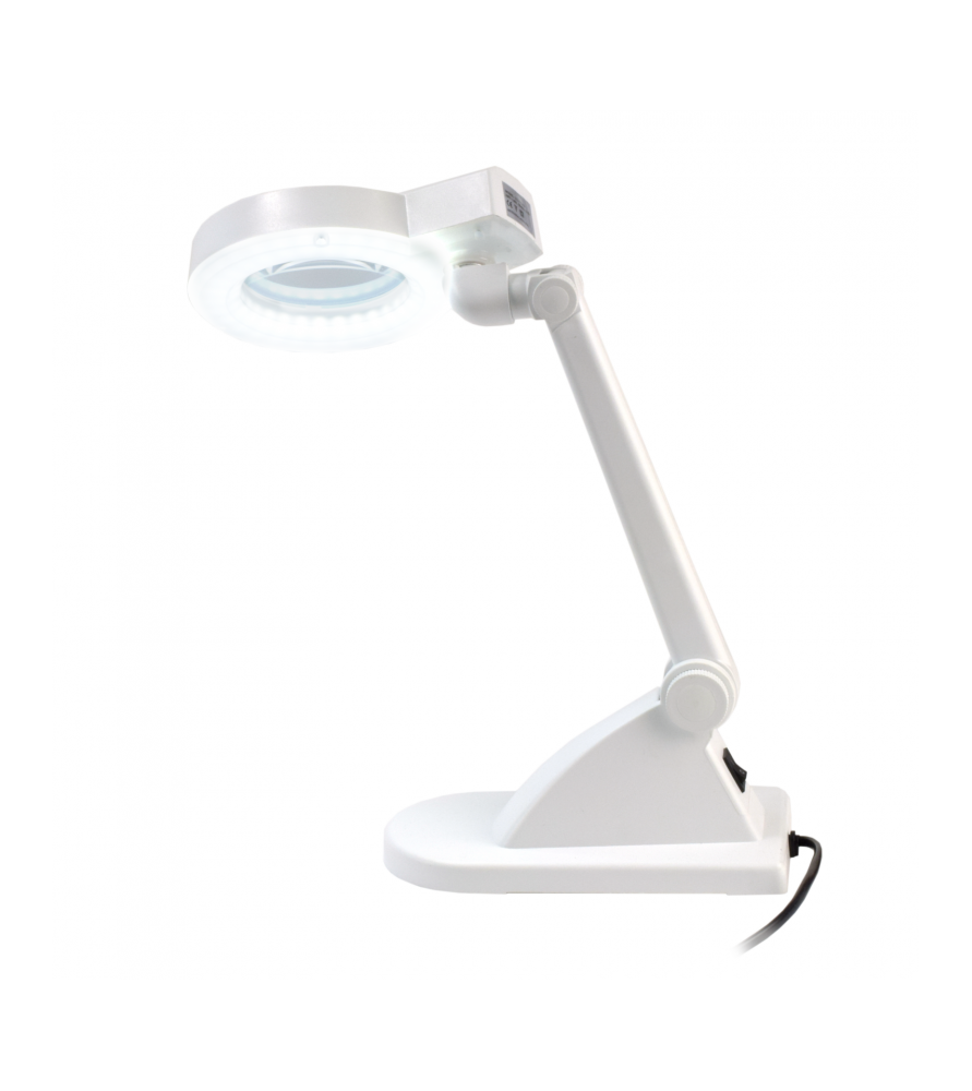 Reading lamp with 60 LED and 3 magnification