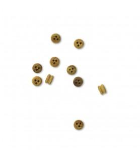 Ship model accessories: dead eye 2,5 mm