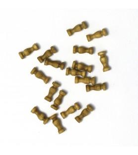 COLUMNA DE NOGAL 8 mm (18 uds)