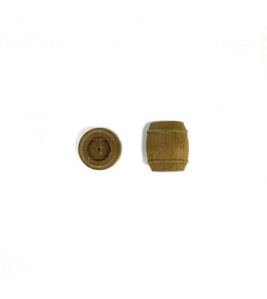 BARRIL DE NOGAL 12 mm (4 uds)