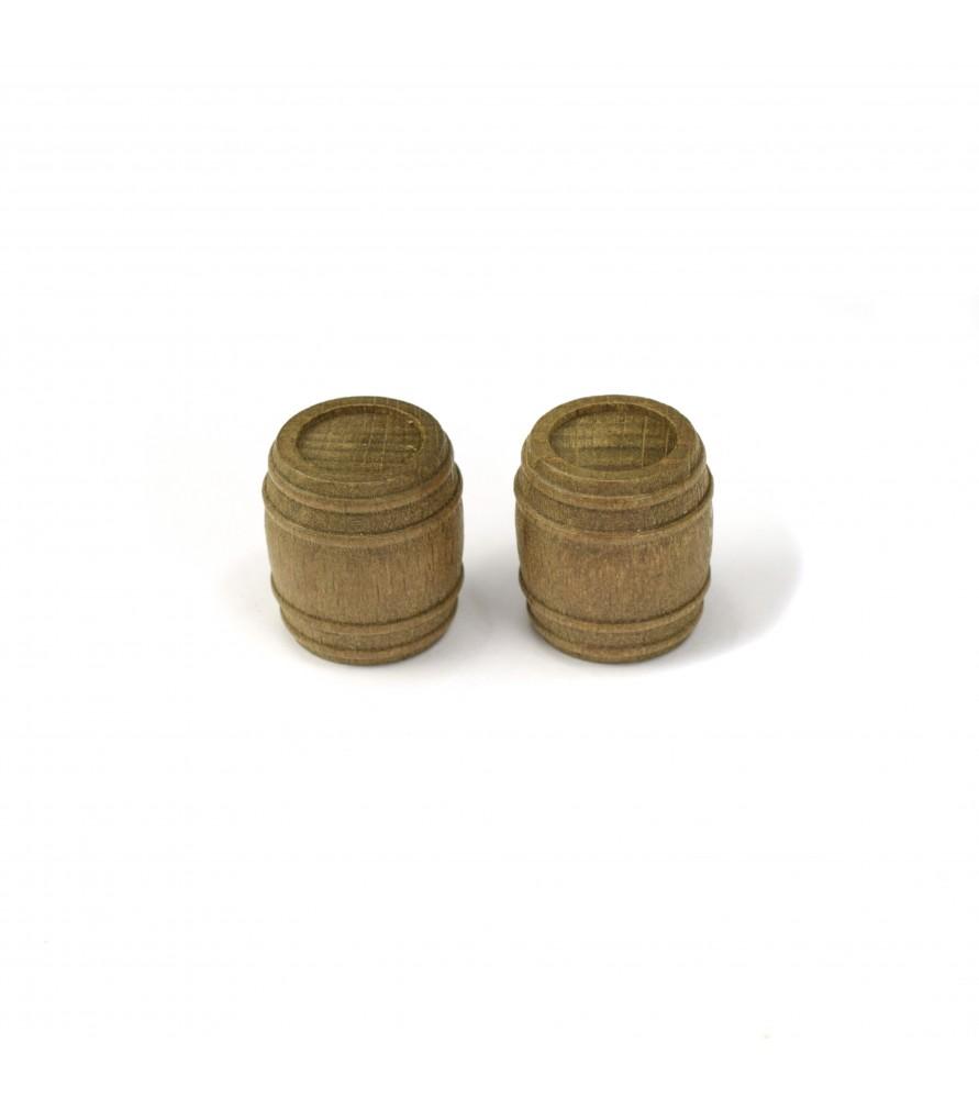 CASK -WALLNUT 18 mm (2 u)