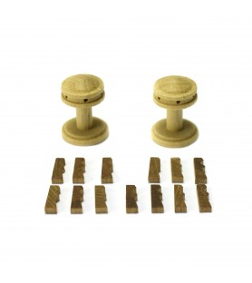 CAPSTAN VERTICAL + GUARDAINFANTES 20 mm (2 units)