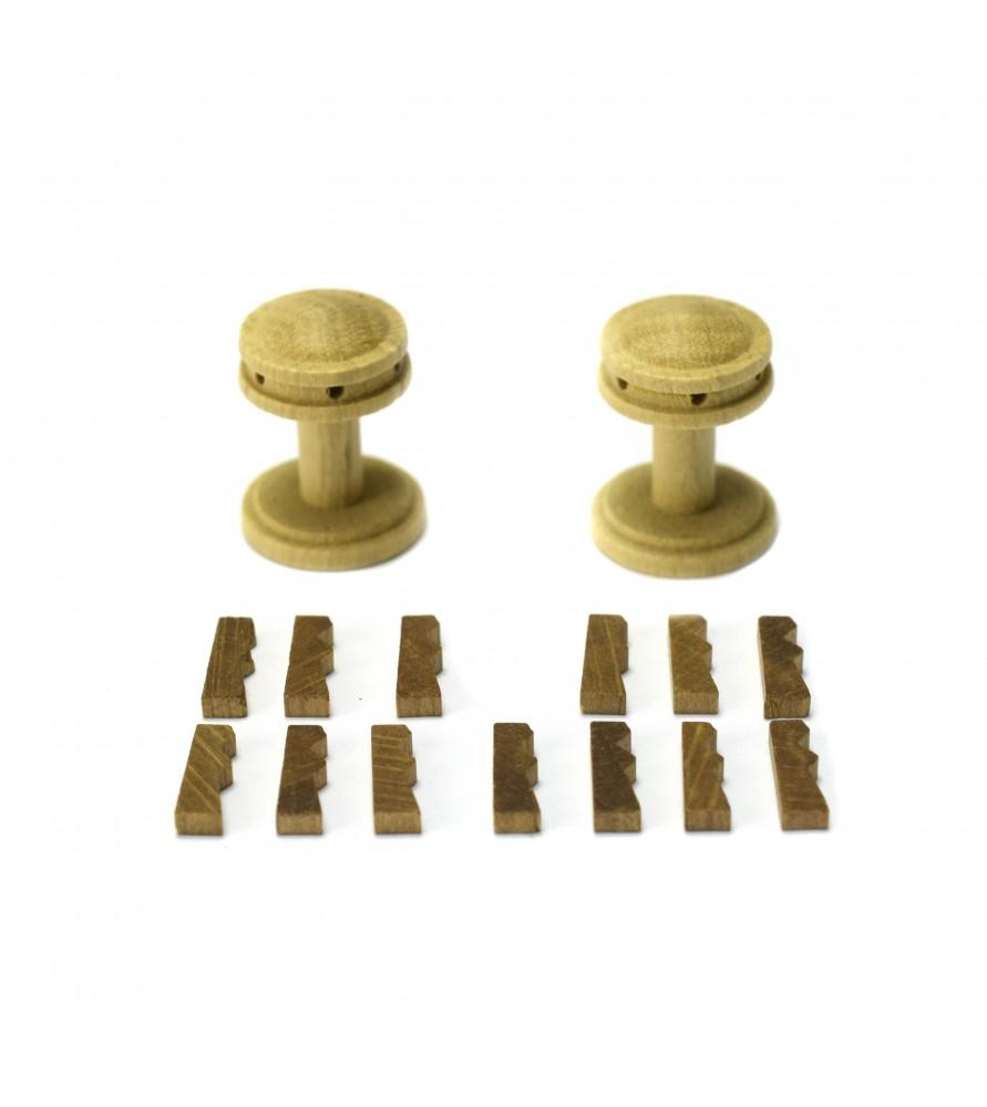 CAPSTAN VERTICAL + GUARDAINFANTES 20 mm (2 units)