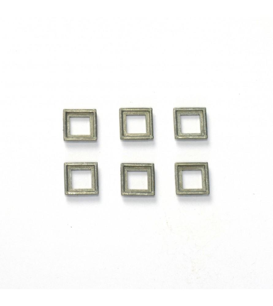 WINDOW FRAME 6x6 mm (6 u.)