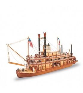 Maqueta de barco en madera: Mississippi II