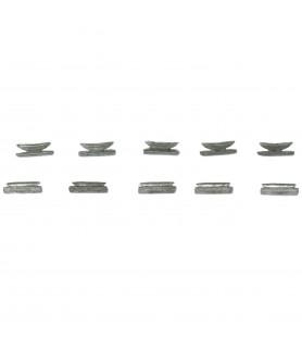 Accessoires de modélisme navale: taquet métal 9 mm
