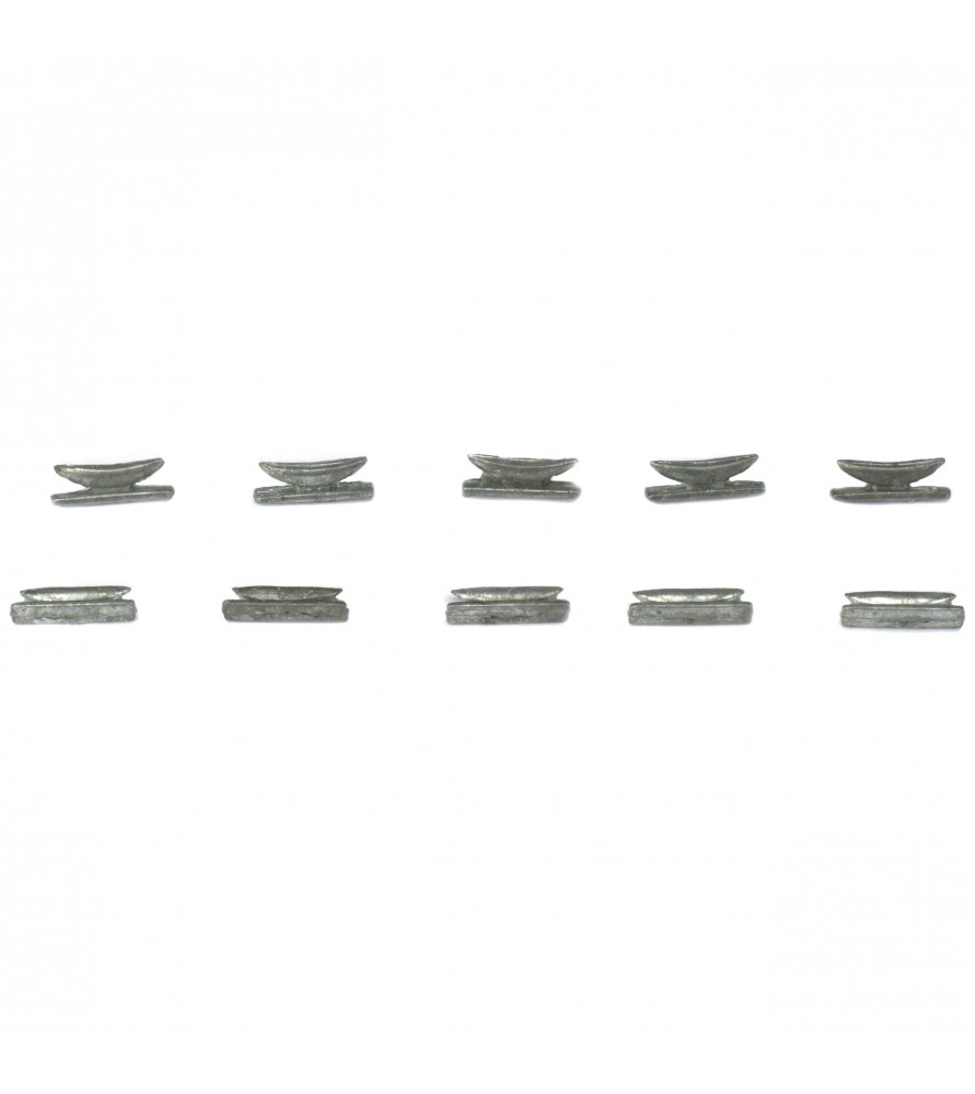 Ship model accessories: stern mooring cleats 9 mm
