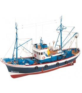 Maqueta de Barco en Madera: Marina II 1/50
