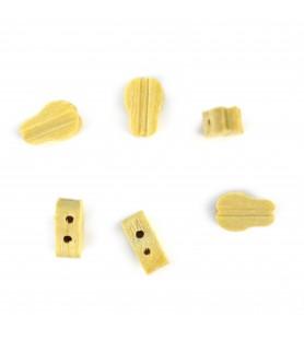 Accessoires de modélisme navale: poulie moufle 7 mm