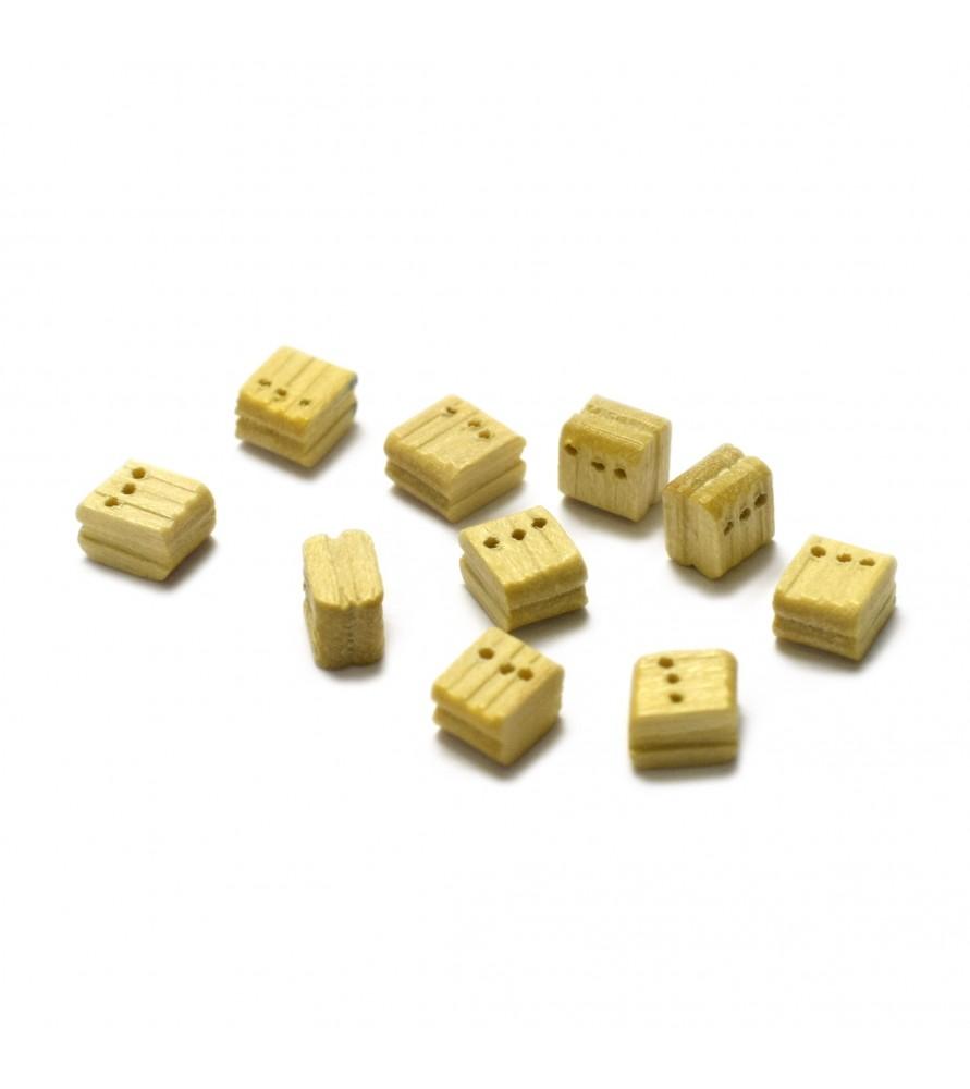Ship model accessories: triple block 5 mm