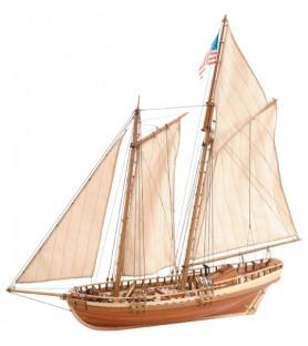 Maquette bateau en bois:  Virginia American Schooner